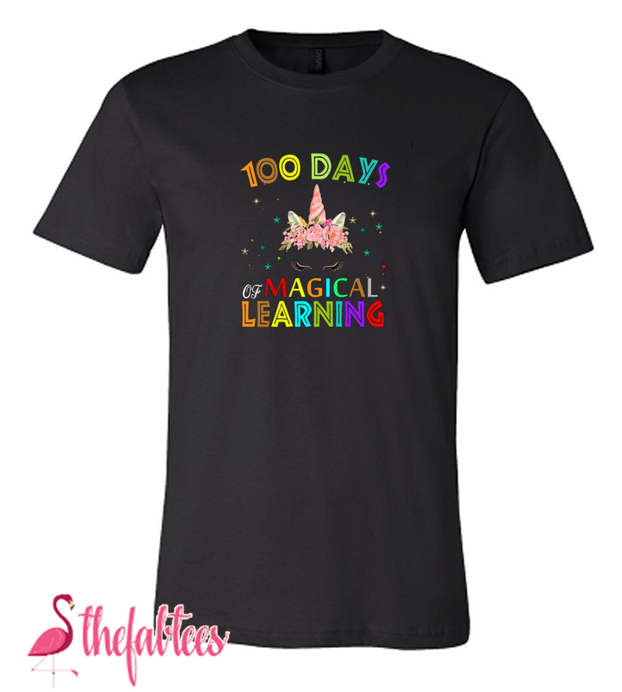 100 days of school Design Fabulous T Shirt