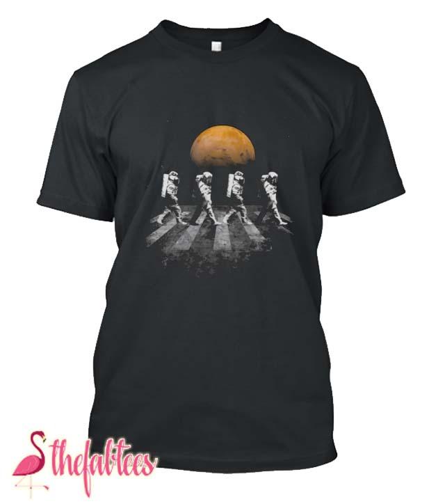 Nasa Walking Astronauts In Space Mars Nasa Space Design Fabulous T Shirt